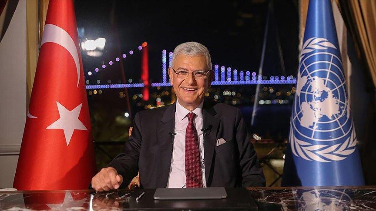 Cumhurbaşkanı Erdoğan dan Volkan Bozkır a tebrik #1