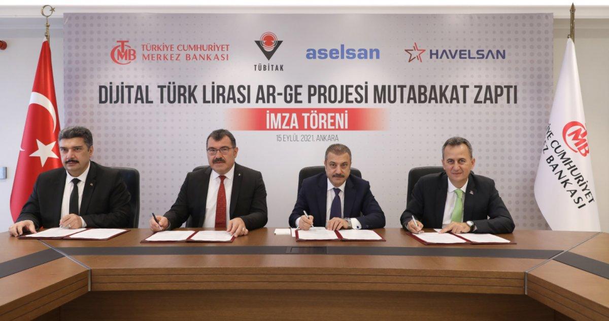 Merkez Bankası ndan Dijital Türk Lirası projesi #1