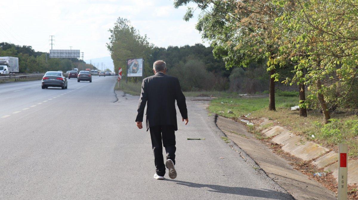 Ankara'dan İstanbul'a yürüyen aşı karşıtı Kocaeli de #2