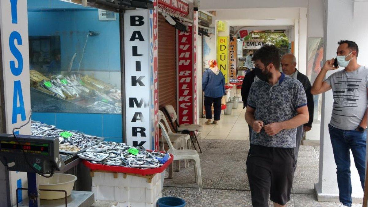 Çanakkale'de balık tezgahlarında fiyatlar düşüşe geçti  #4