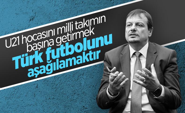 Ergin Ataman: A Milli Takımımıza Türk hoca gelmeli