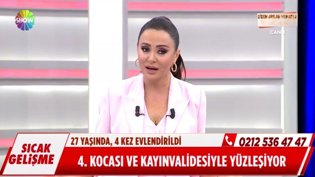 Susmayan Azeri gelin Risale, Didem Arslan ı çıldırttı #1