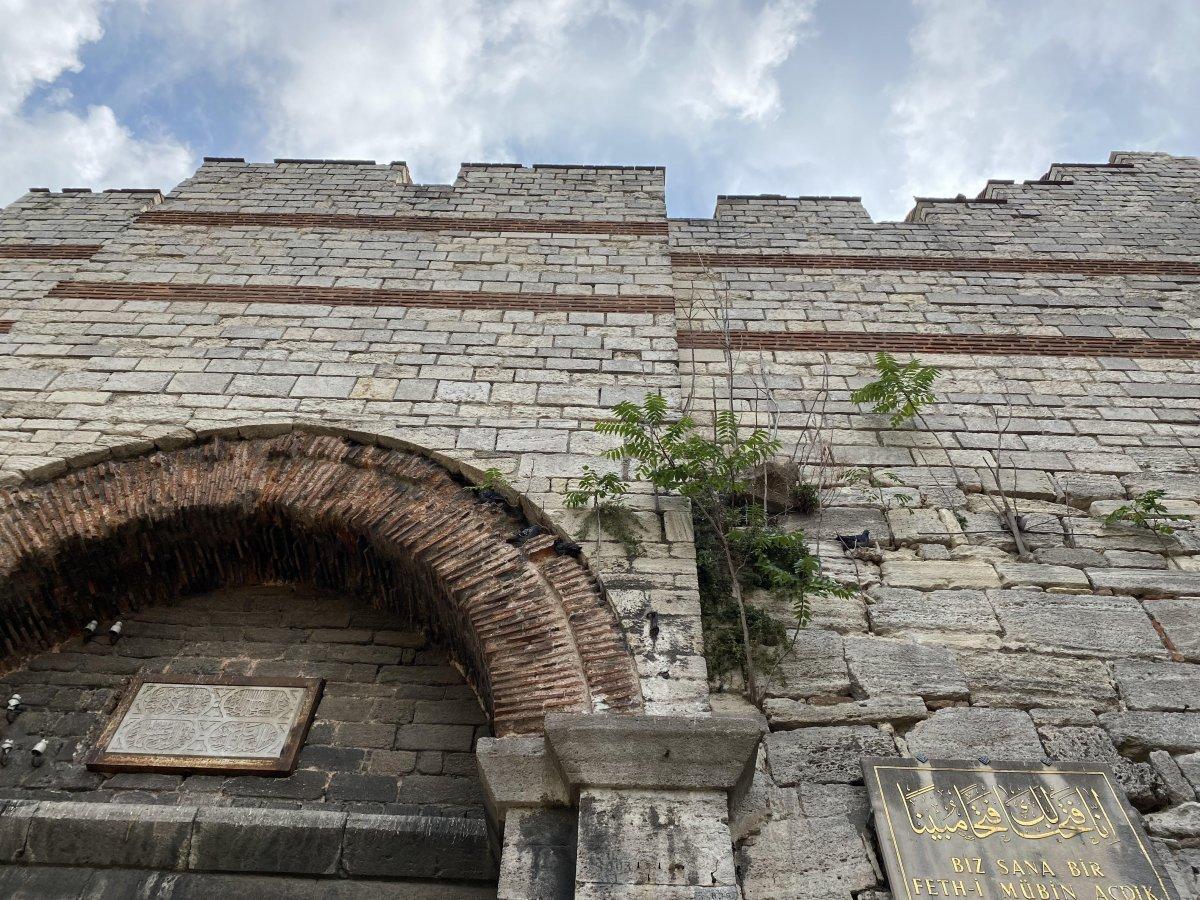 İstanbul un fethinin sembol yeri, evsizlerin yuvası oldu #1