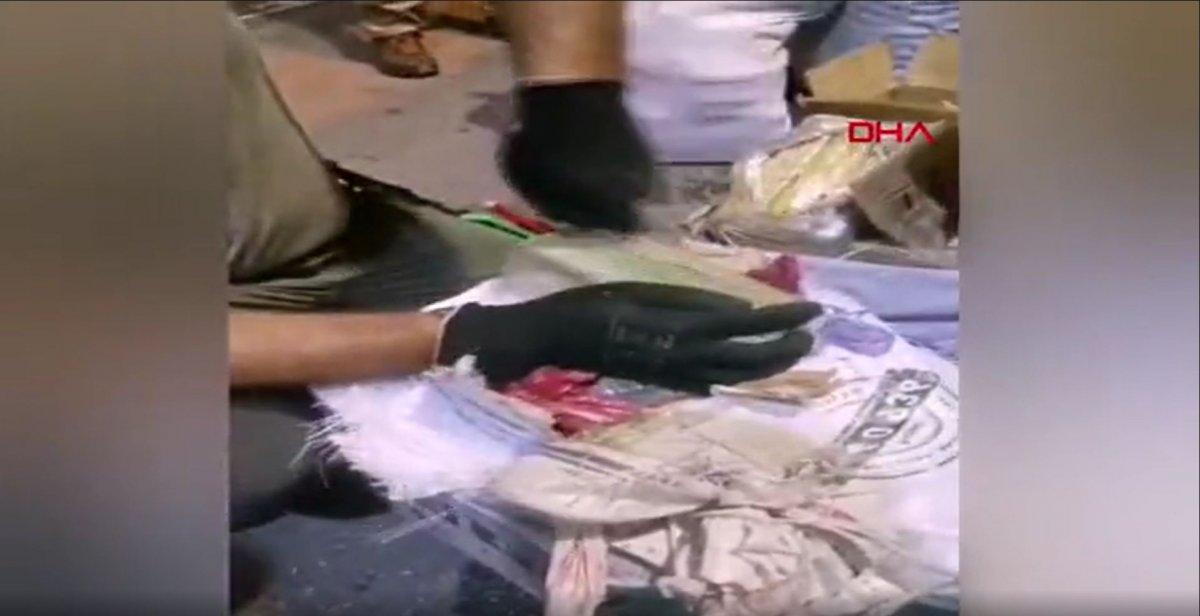 Malatya'da, yolcu otobüsündeki valizlerden 53 kilo 950 gram eroin çıktı #2