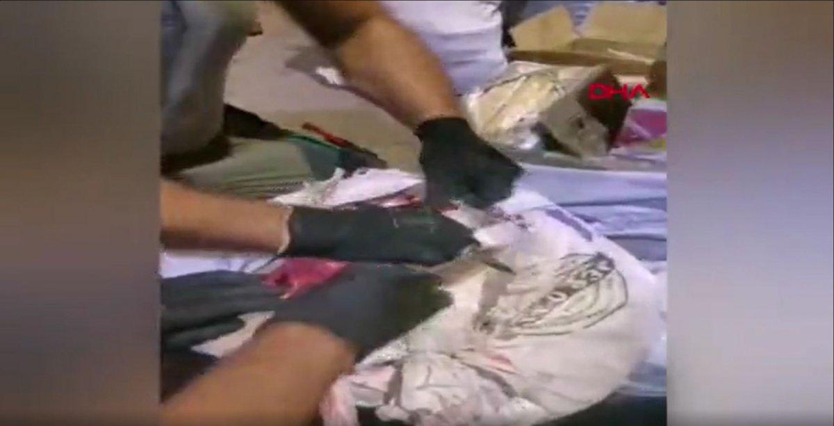 Malatya'da, yolcu otobüsündeki valizlerden 53 kilo 950 gram eroin çıktı #3
