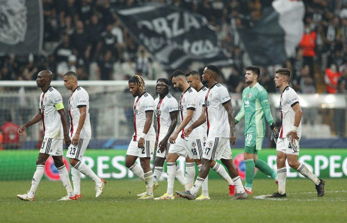 Beşiktaş, Şampiyonlar Ligi nde Dortmund a mağlup oldu #3