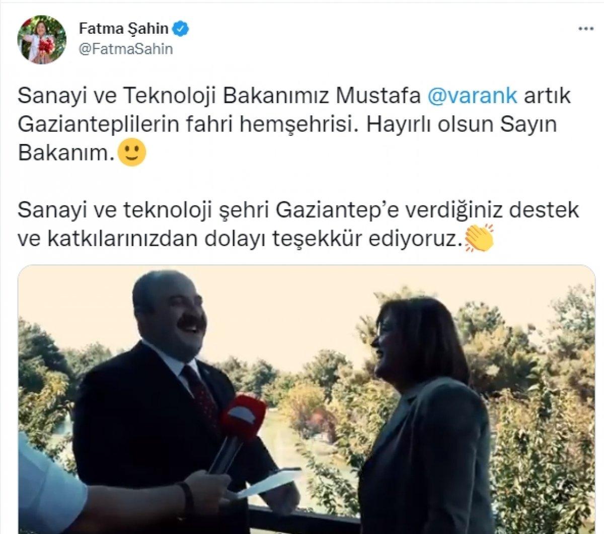 Mustafa Varank ile Fatma Şahin arasında esprili sohbet #3