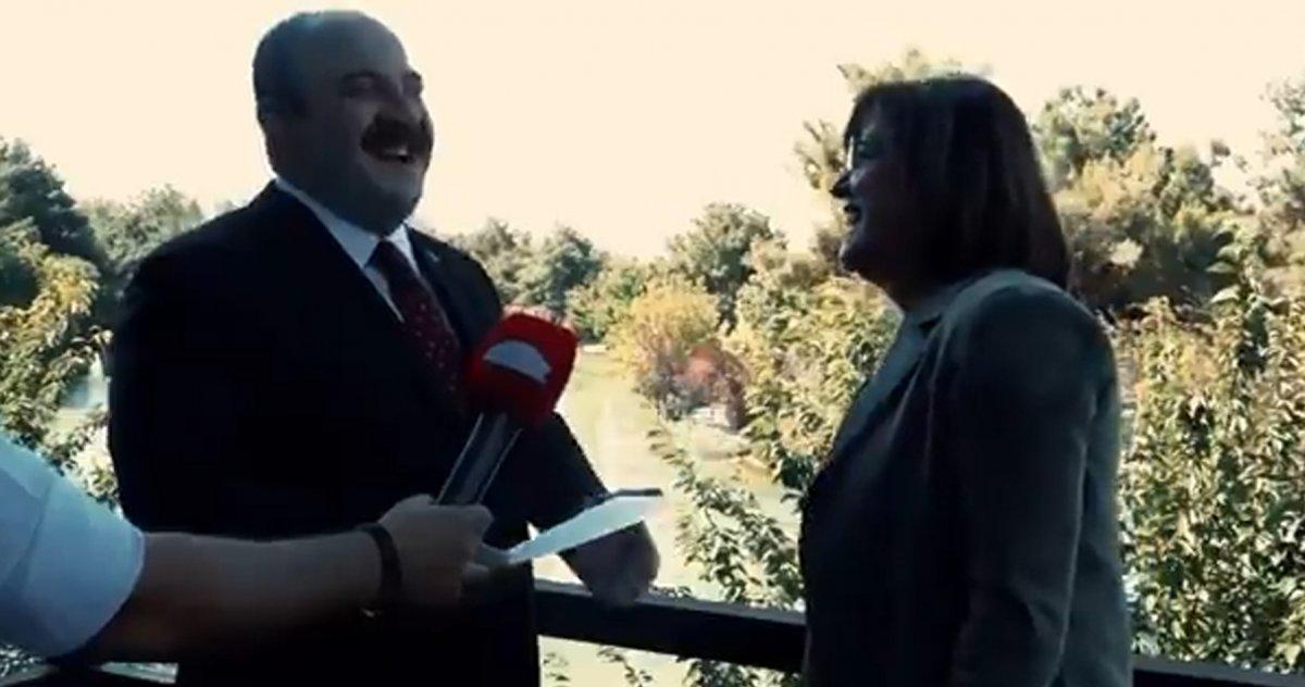 Mustafa Varank ile Fatma Şahin arasında esprili sohbet #2