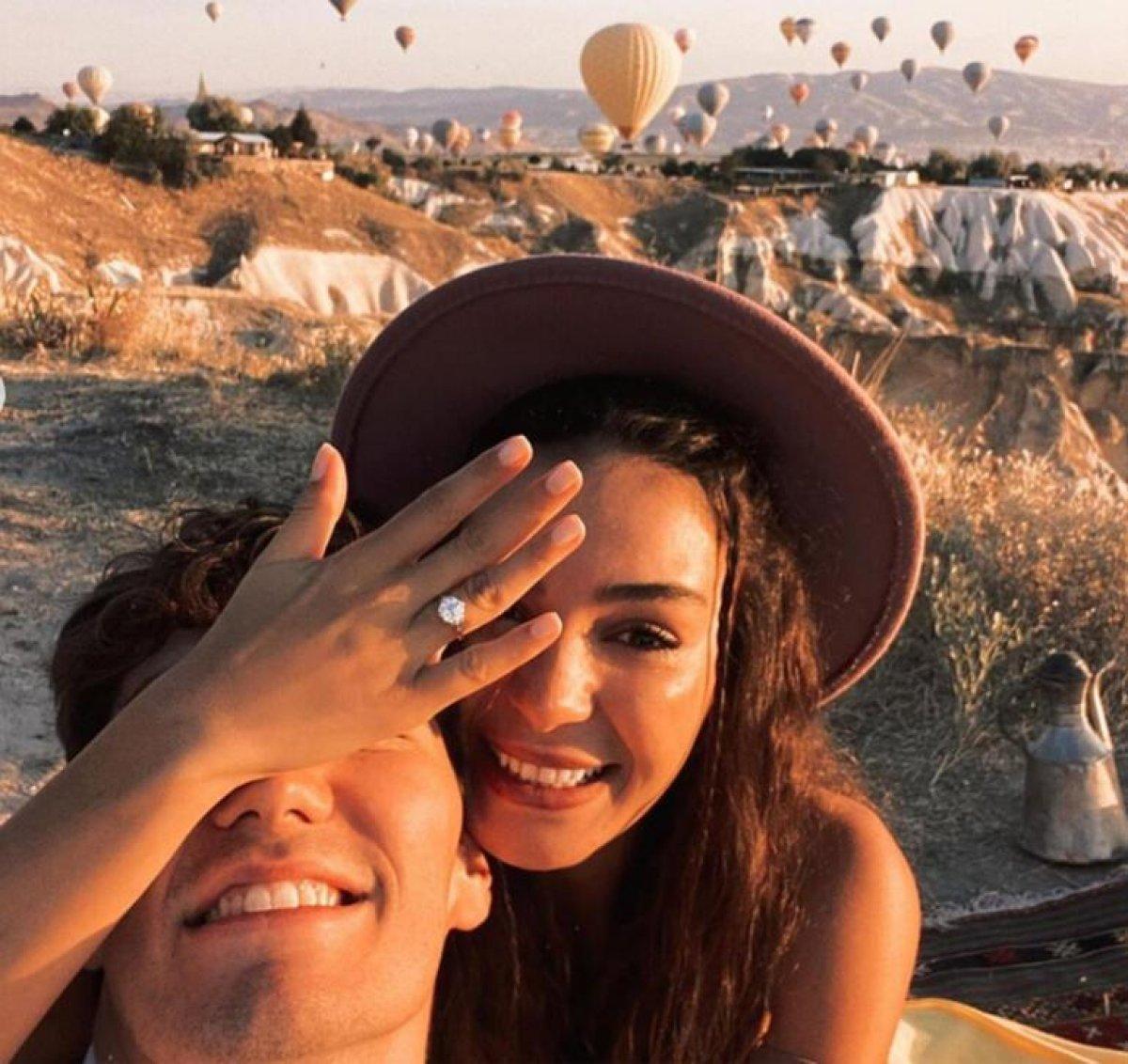 Cedi Osman, Ebru Şahin e evlenme teklifi etti #3