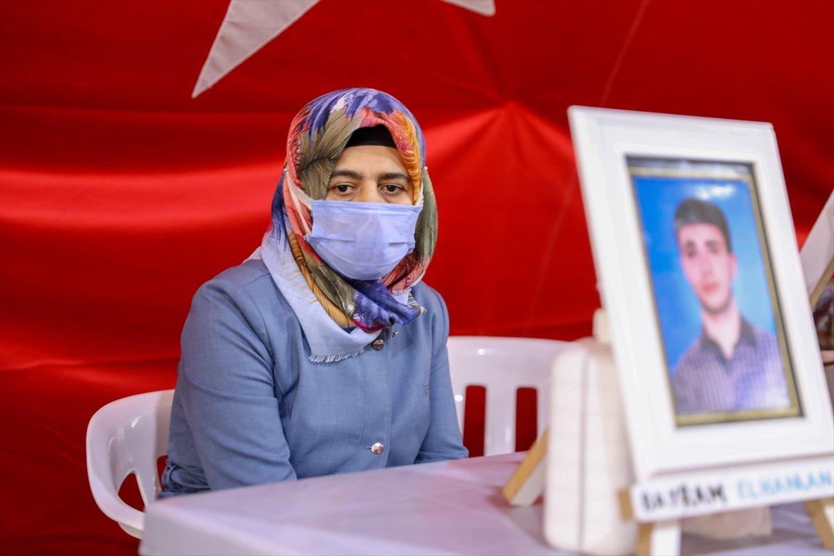 Diyarbakır da evlat nöbetindeki baba: HDP evladımı bizden kopardı #3
