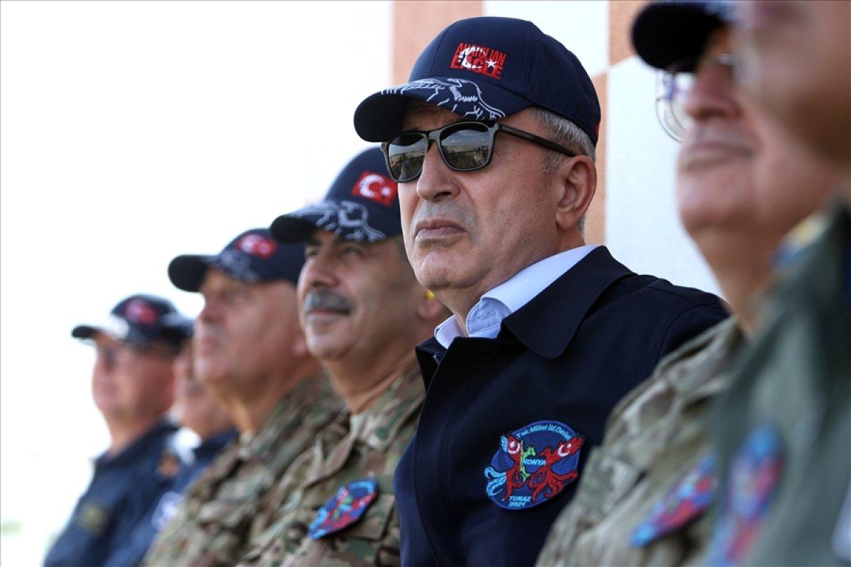Hulusi Akar: Temennimiz Ermenistan ın ateşkese uyması #2