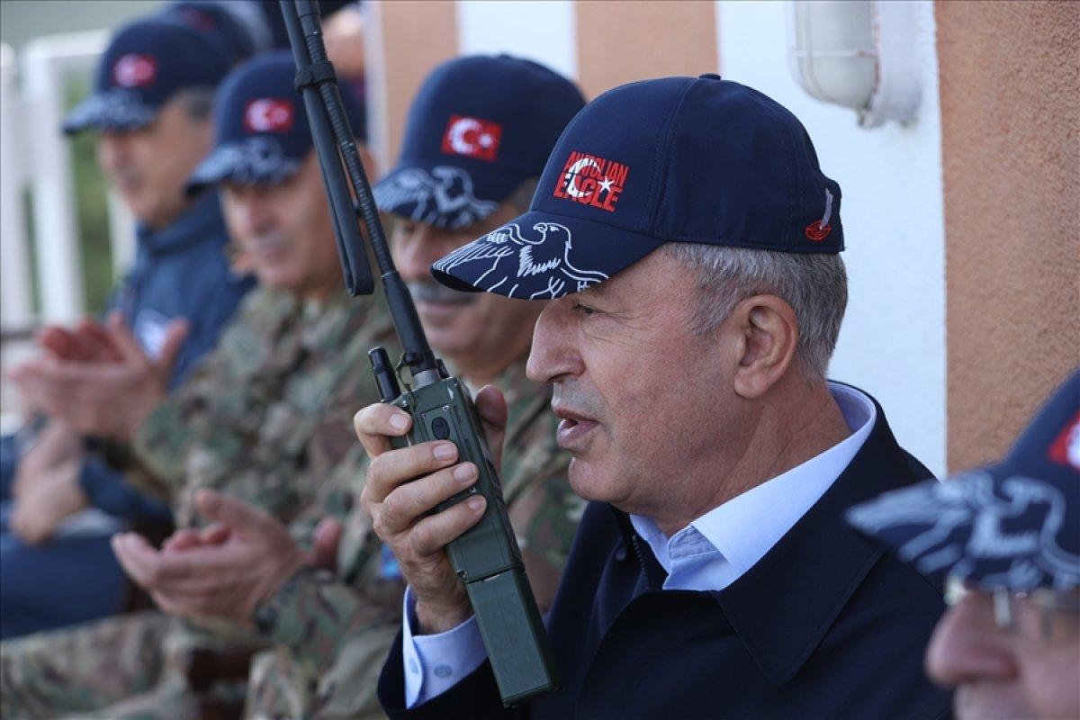Hulusi Akar: Temennimiz Ermenistan ın ateşkese uyması #5