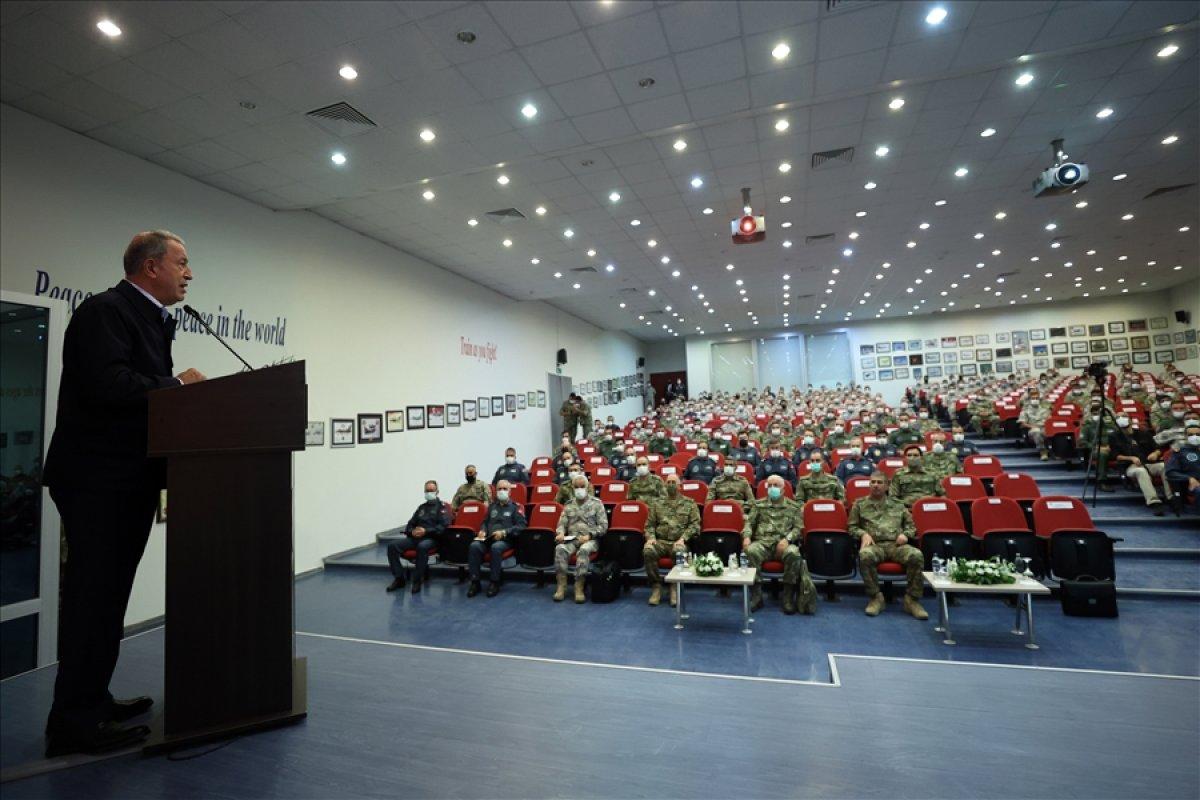 Hulusi Akar: Temennimiz Ermenistan ın ateşkese uyması #3