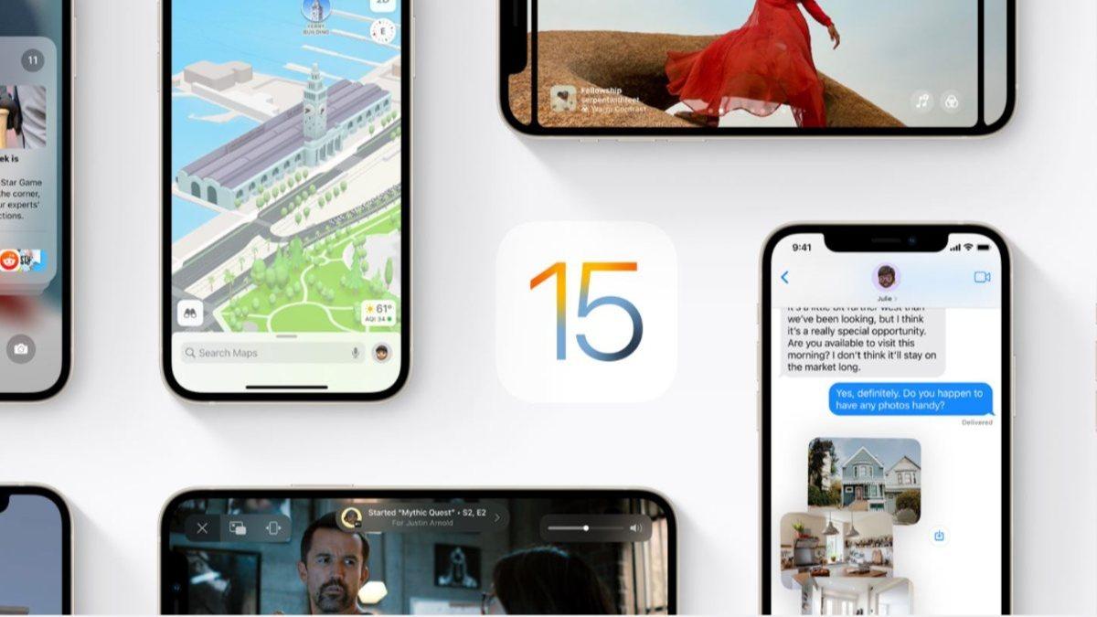 iOS 15in ne zaman yayınlanacağı belli oldu