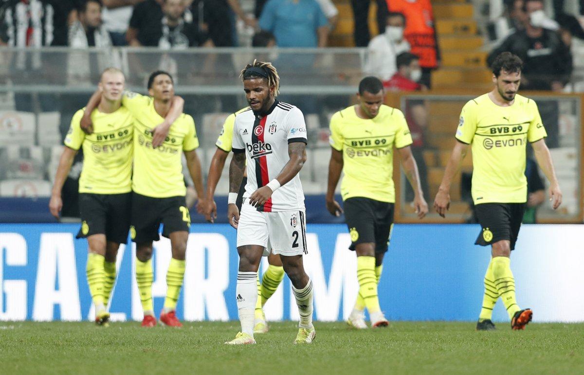 Beşiktaş, Şampiyonlar Ligi nde Dortmund a mağlup oldu #5