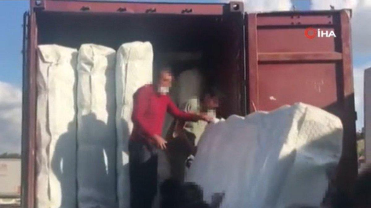 İstanbul'da, 7 milyon liralık vurguna hazırlanan kaçakçılara operasyon #2