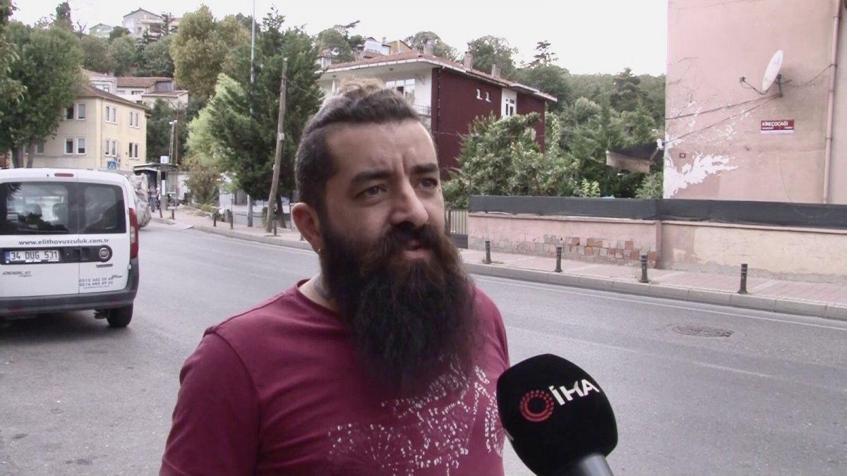 Beykoz'da, sokak köpeğini besleyen adamı komşuları tehdit etti  #3