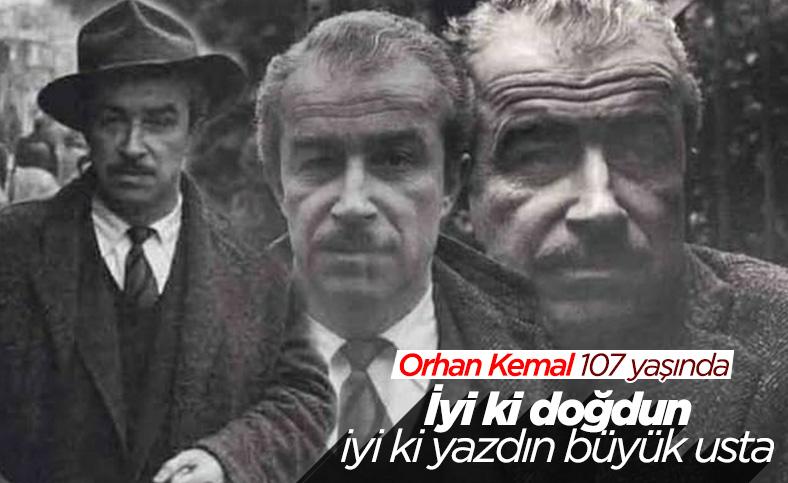 Yazar Orhan Kemal'in 107'nci doğum yılı