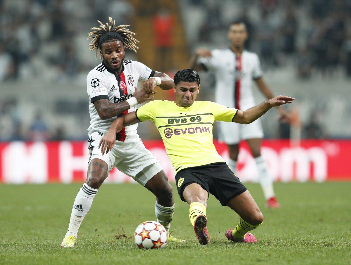 Beşiktaş, Şampiyonlar Ligi nde Dortmund a mağlup oldu #2