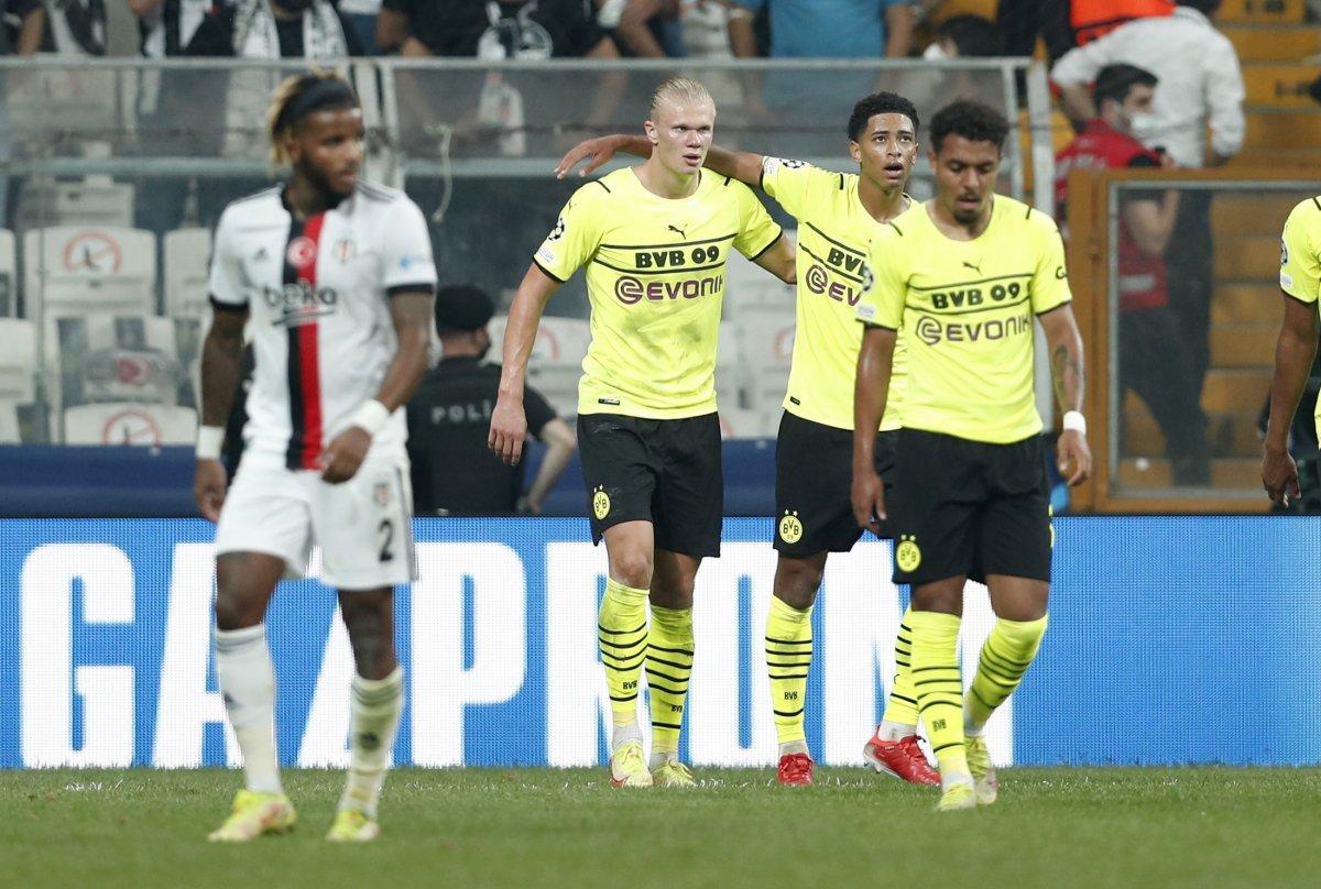 Beşiktaş, Şampiyonlar Ligi nde Dortmund a mağlup oldu #4