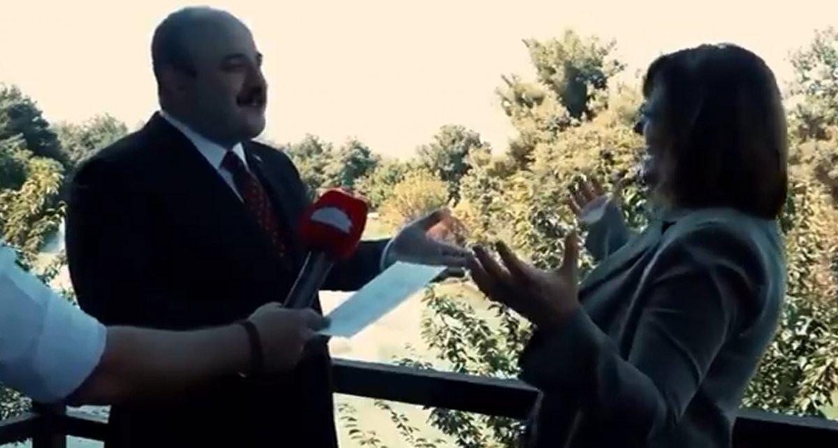 Mustafa Varank ile Fatma Şahin arasında esprili sohbet #1