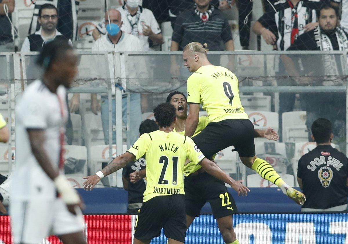 Beşiktaş, Şampiyonlar Ligi nde Dortmund a mağlup oldu #1