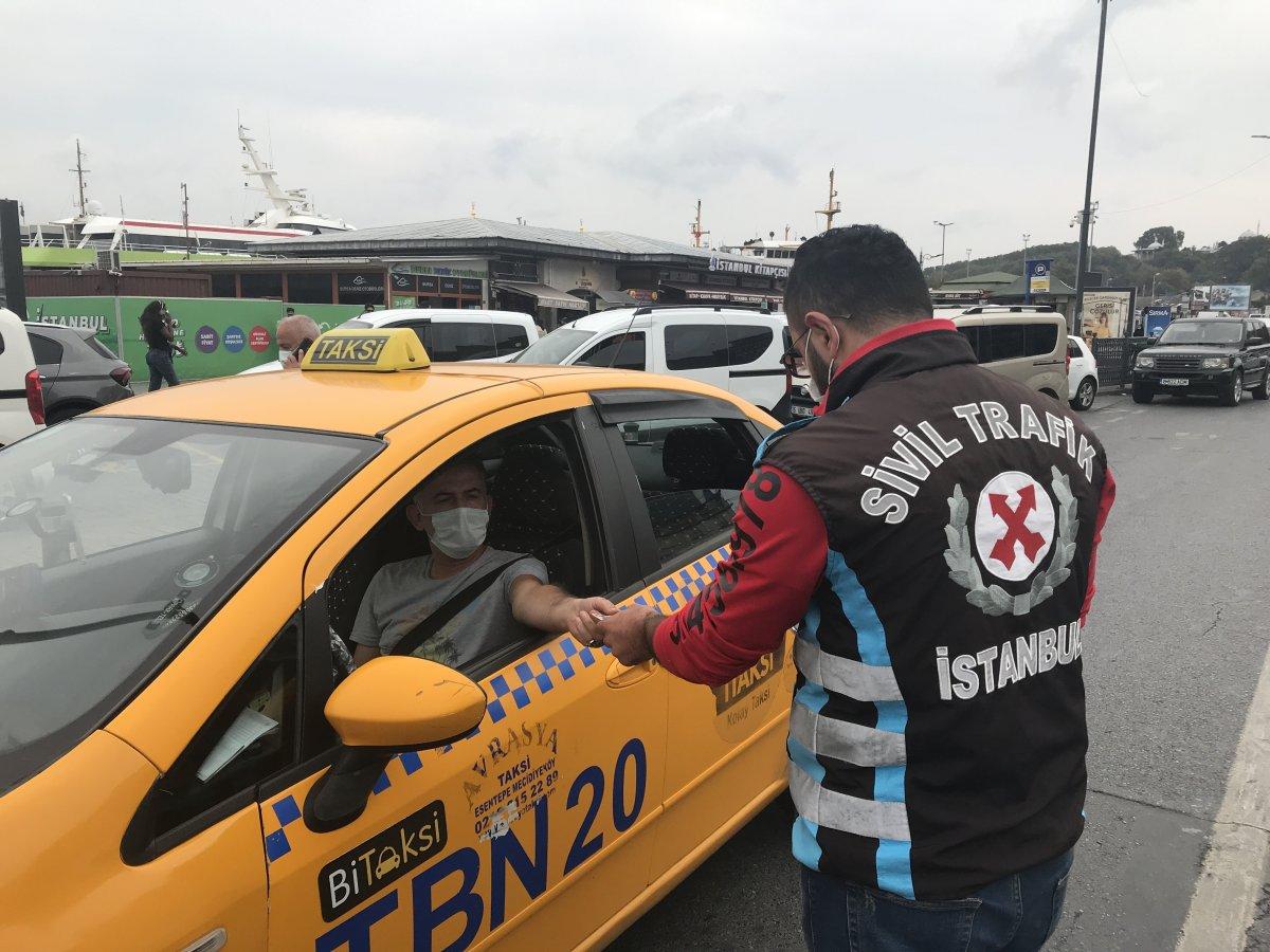Eminönü'nde taksicilere ceza yağdı #2