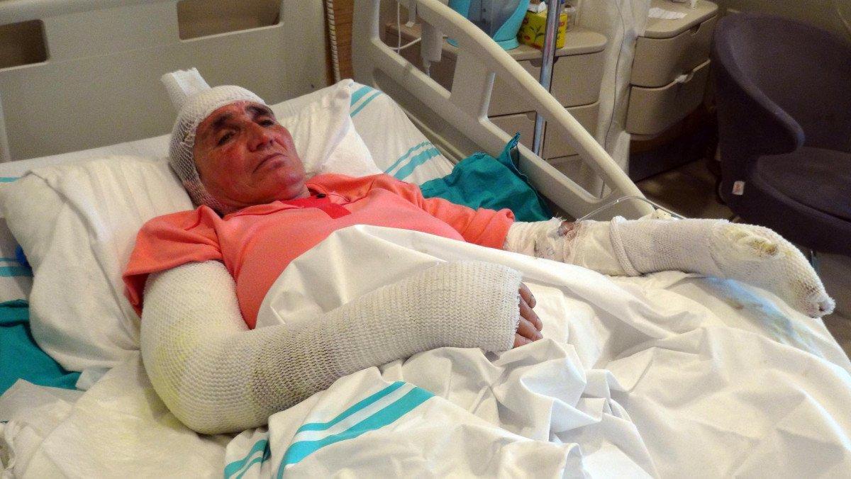 Erzincan da tandıra düşen kadın, yaşadıklarını anlattı #1
