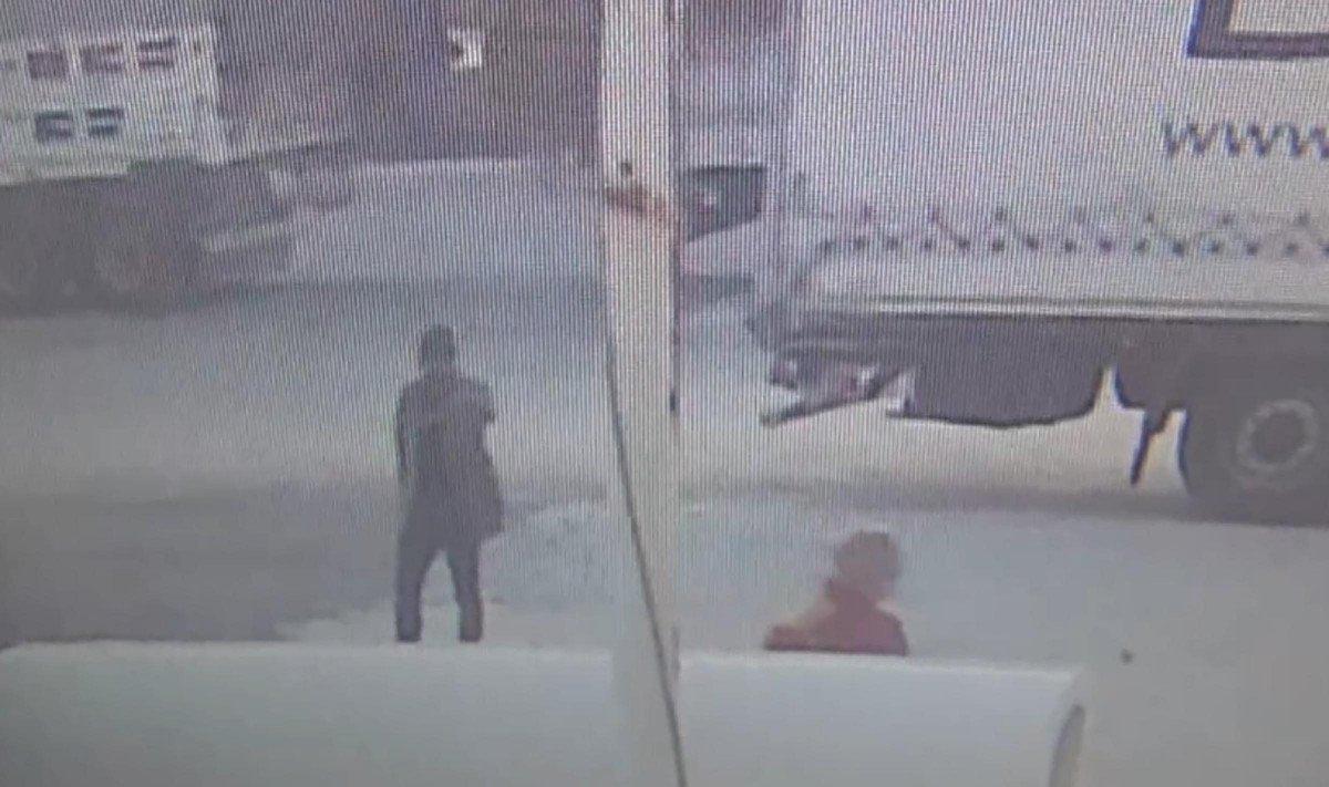 Tekirdağ'da tıra kaçak binmeye çalışan 2 göçmen, bekçiye silah çekti #5