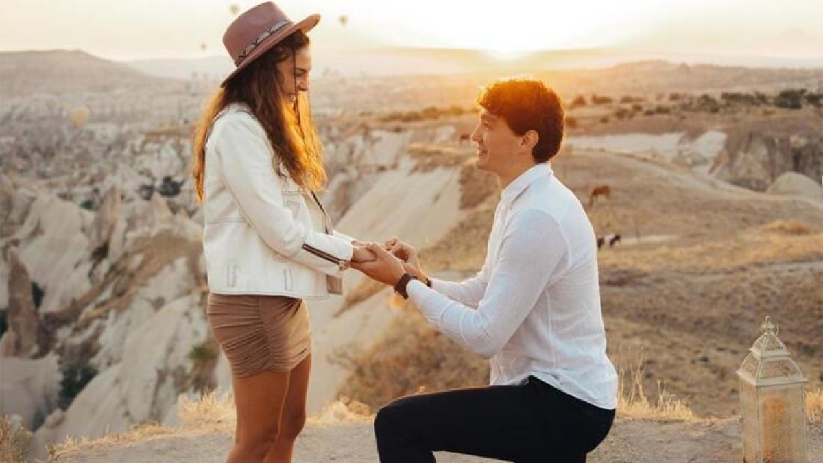 Cedi Osman, Ebru Şahin e evlenme teklifi etti #2