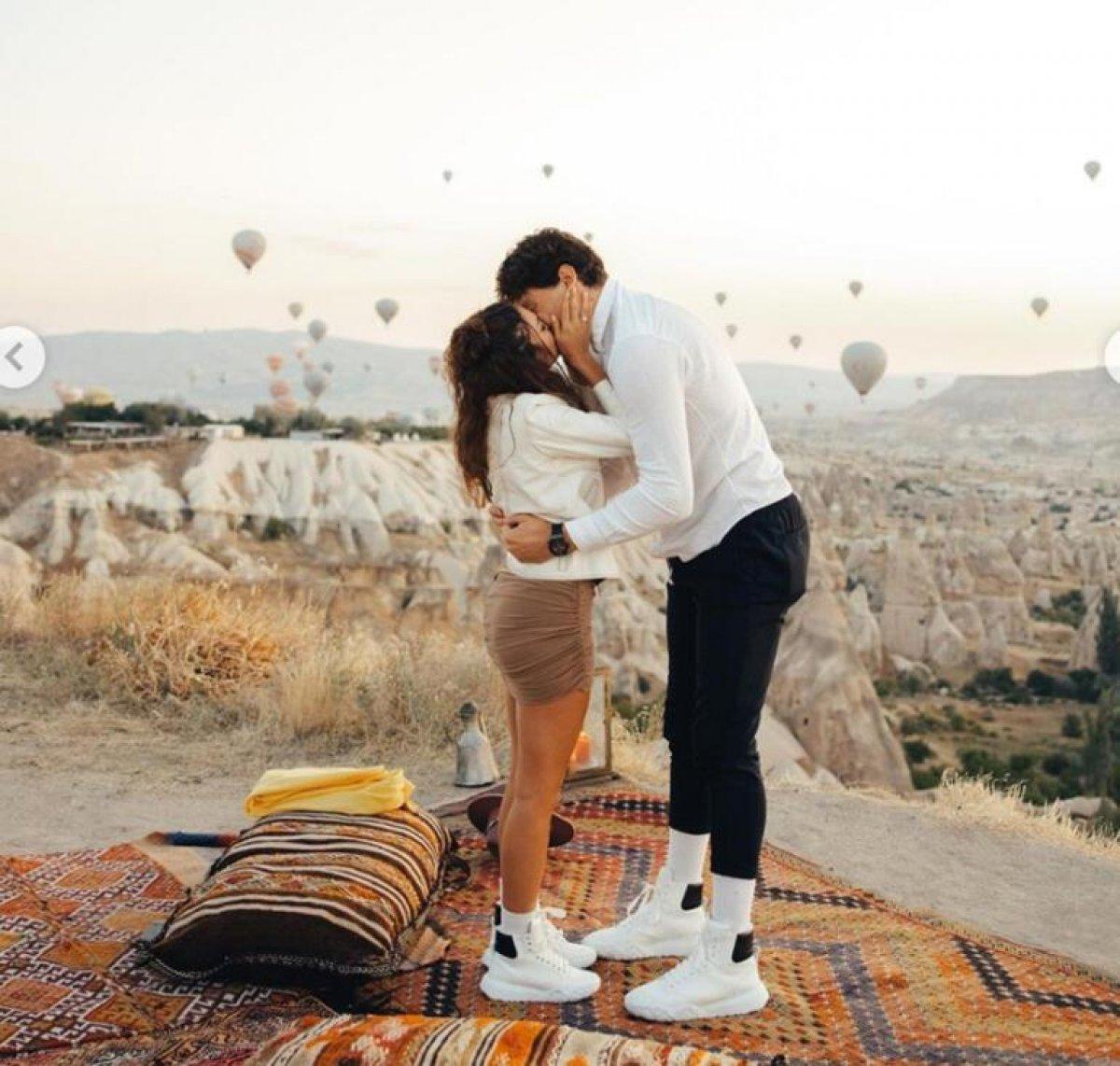 Cedi Osman, Ebru Şahin e evlenme teklifi etti #1