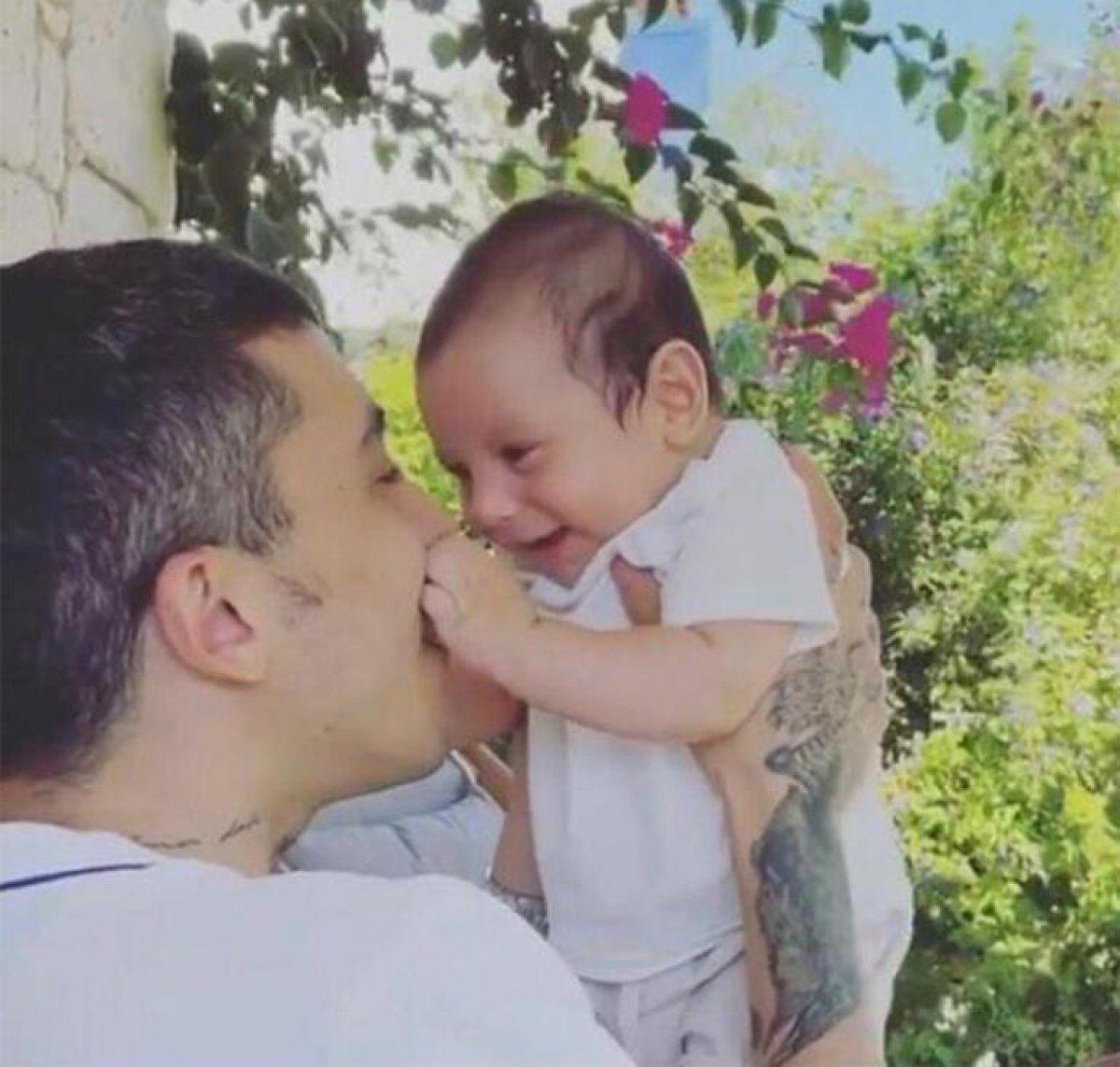 Öykü Karayel, oğlunun eğlenceli videosunu paylaştı #1