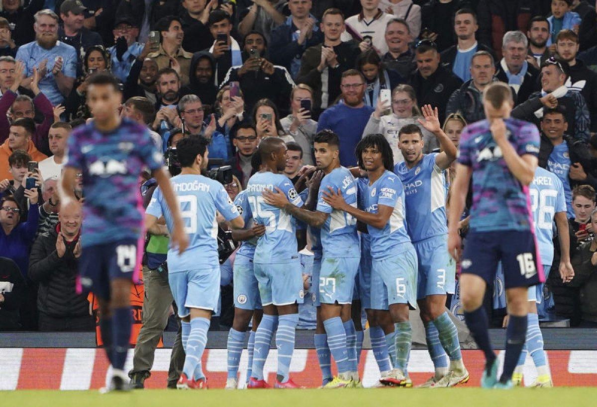 Manchester City, Leipzig i farkla yendi #2