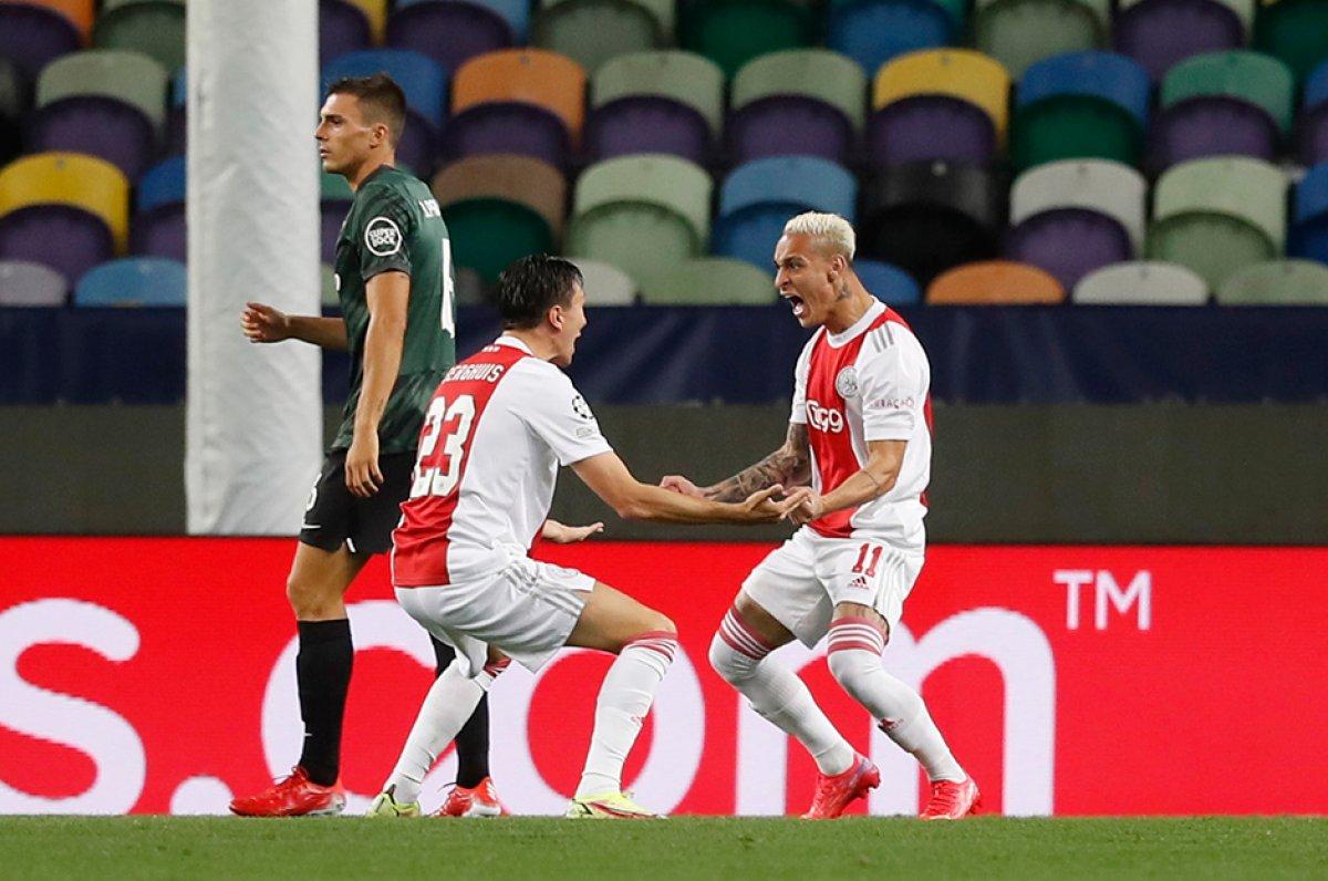 Sporting Lizbon Ajax a 1-5 mağlup oldu #1