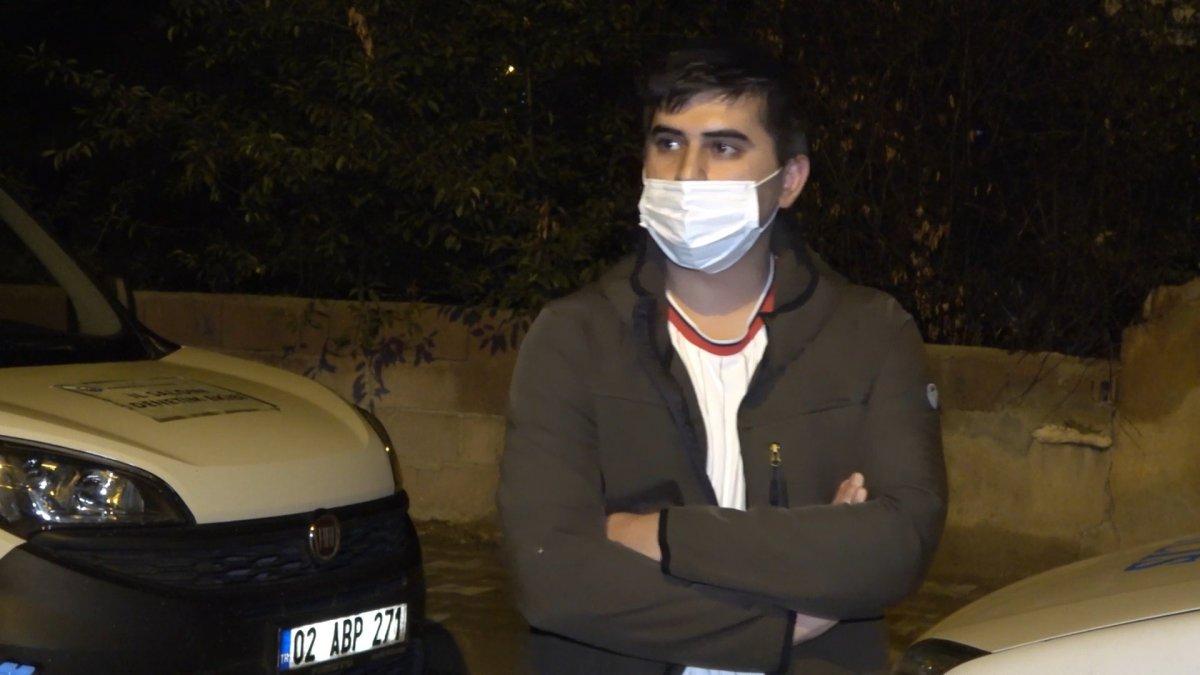 Kırıkkale de koronalı halde sokağa çıkan bir kişi yakalanınca tepki gösterdi #3