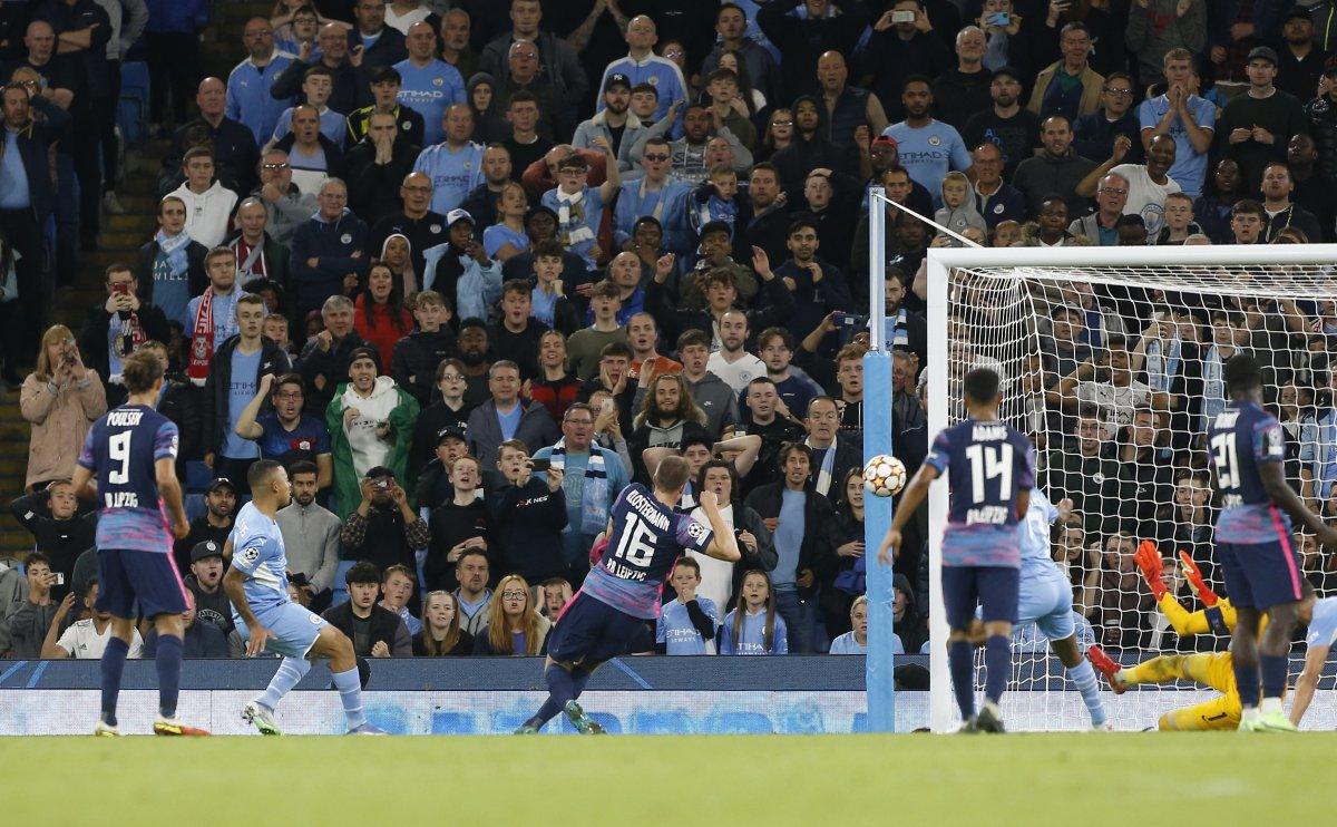 Manchester City, Leipzig i farkla yendi #3