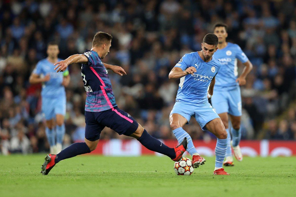 Manchester City, Leipzig i farkla yendi #1