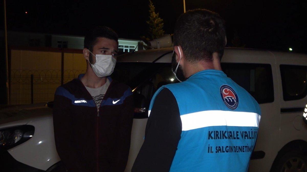 Riskli gruptaki genç, Muğla dan Kırıkkaleye kadar otomobiliyle yolculuk yaptı  #4