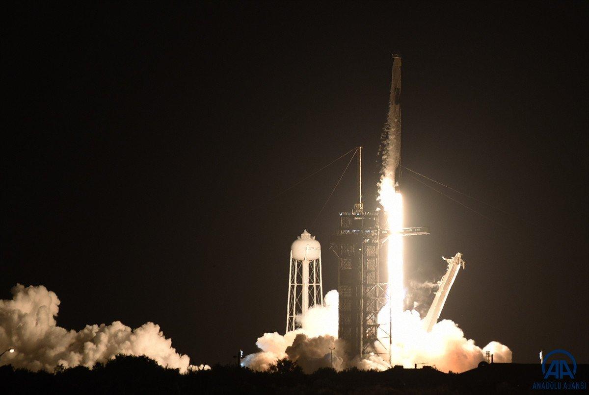 SpacX roketi, başarılı bir şekilde fırlatıldı #3