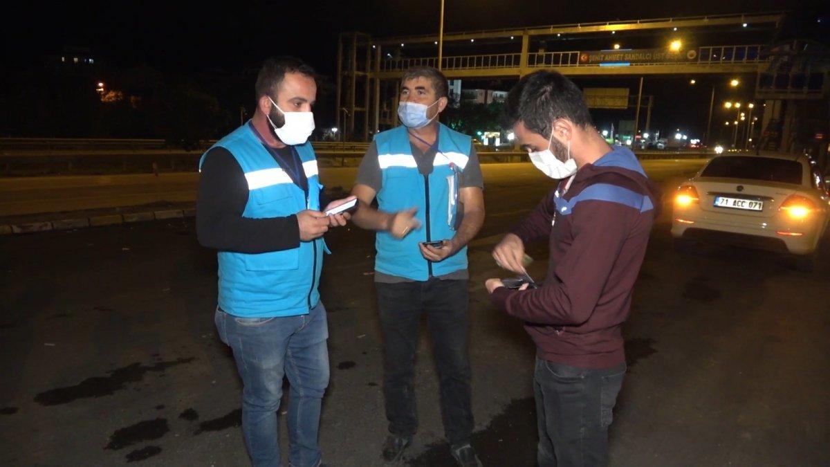 Riskli gruptaki genç, Muğla dan Kırıkkaleye kadar otomobiliyle yolculuk yaptı  #1