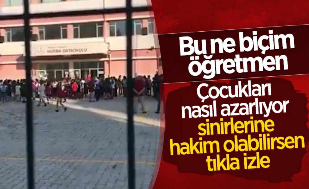 Antalya da öğrencilerini tehdit eden müdür yardımcısı açığa alındı  #3