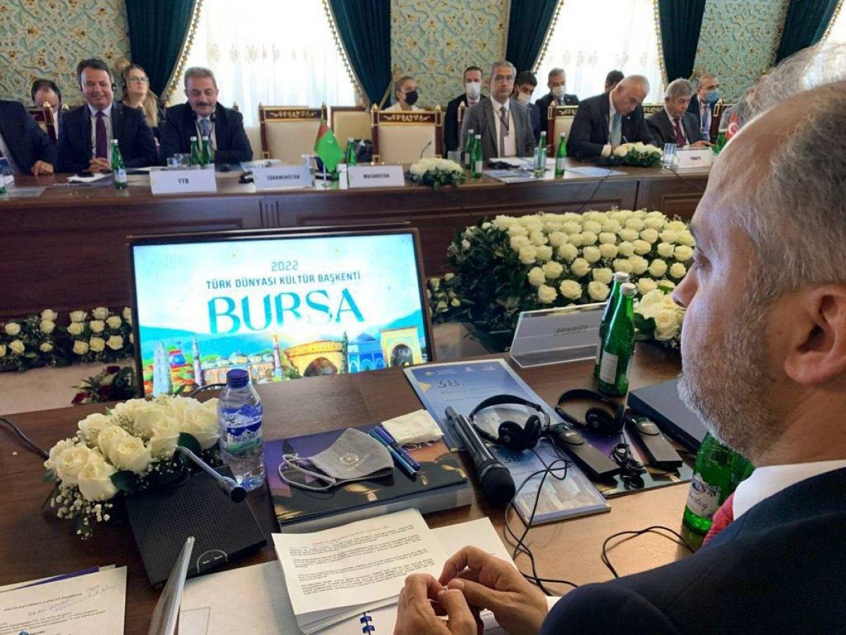 Türk Dünyası Kültür Başkenti unvanı Bursa ya verildi #4