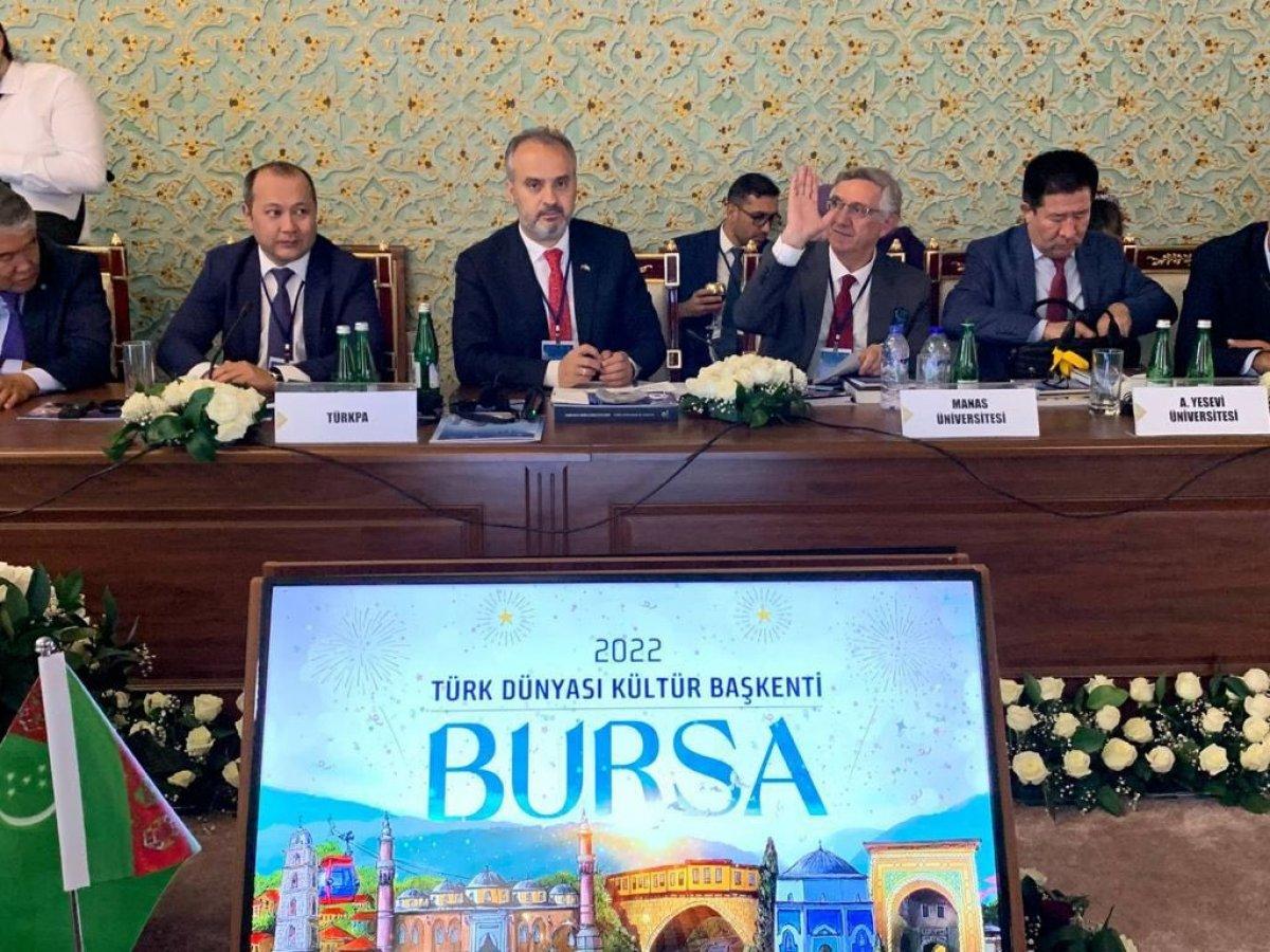 Türk Dünyası Kültür Başkenti unvanı Bursa ya verildi #2