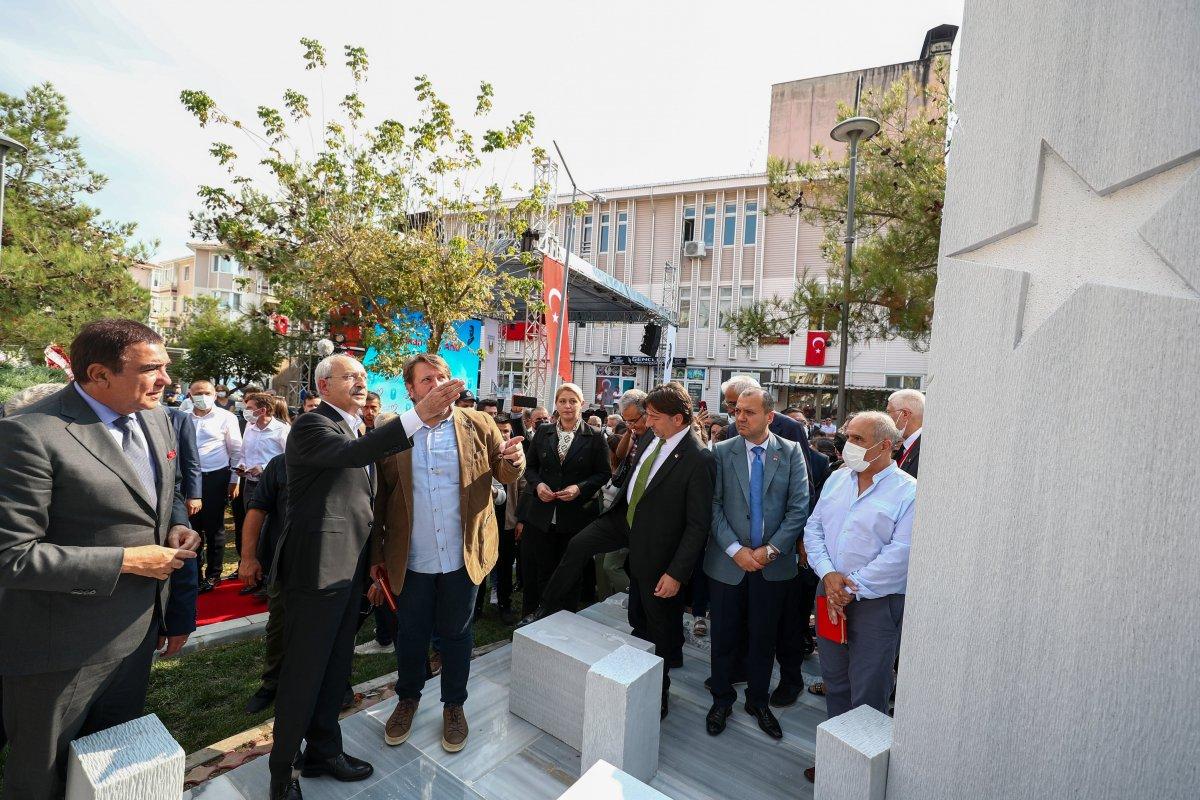 Kemal Kılıçdaroğlu, Lüleburgaz da Balkan Göç Anıtı nın açılışını yaptı #3