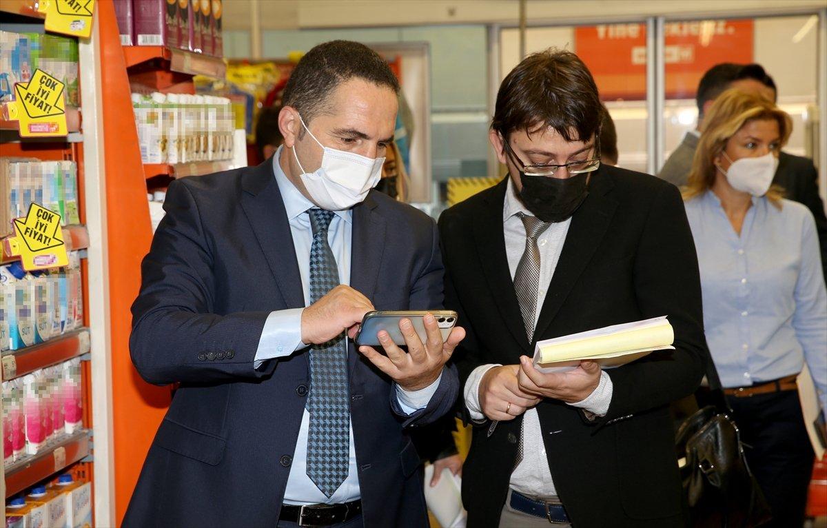 İstanbul da marketlere eş zamanlı fiyat ve etiket denetimi #1