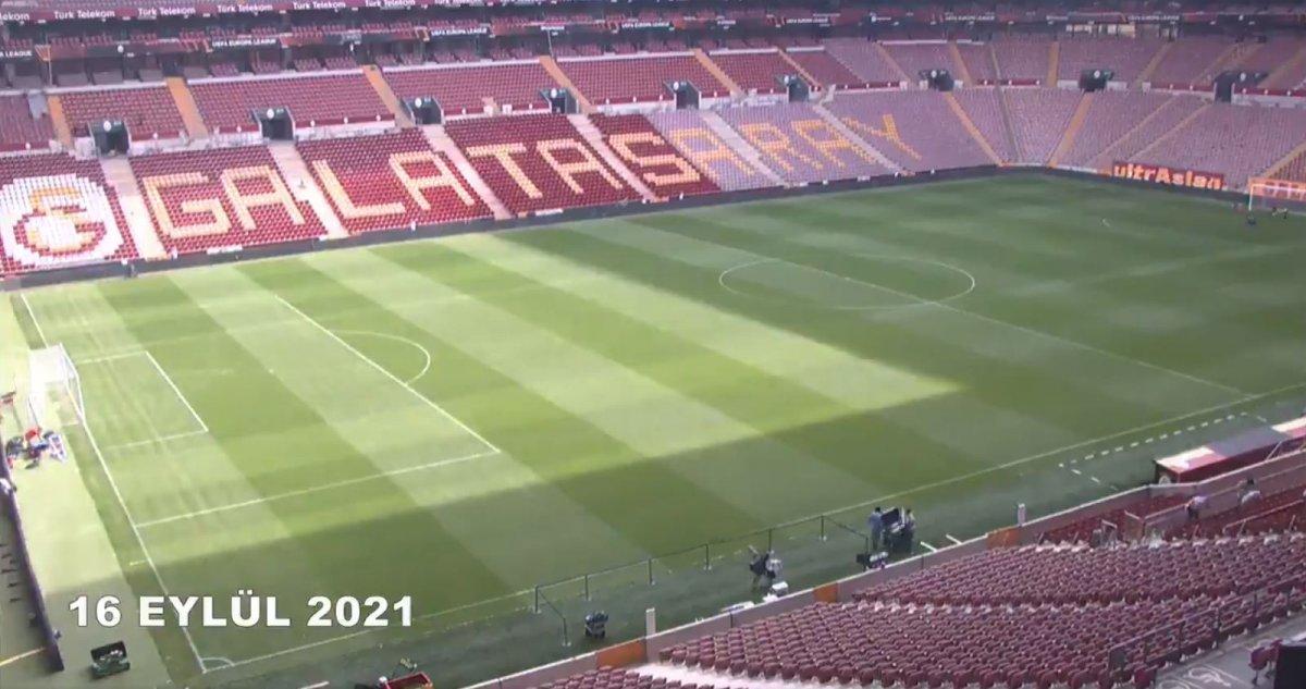 Galatasaray ın stadındaki muhteşem değişim #2