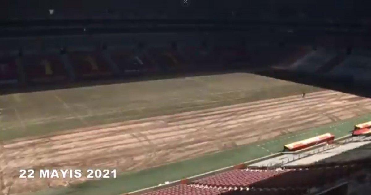 Galatasaray ın stadındaki muhteşem değişim #1