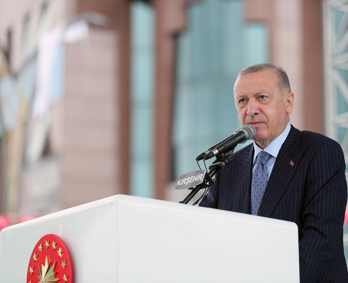 Cumhurbaşkanı Erdoğan, Kırşehir de esnaf buluşmasında konuştu  #1