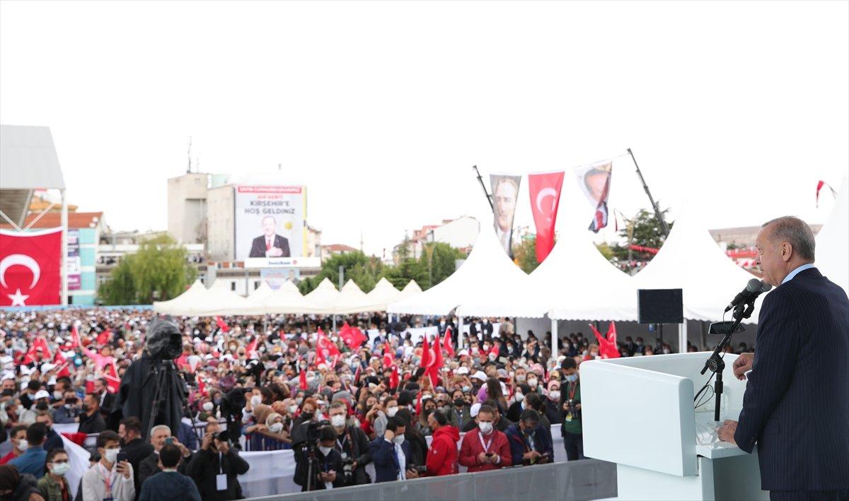 Cumhurbaşkanı Erdoğan, Kırşehir de esnaf buluşmasında konuştu  #2