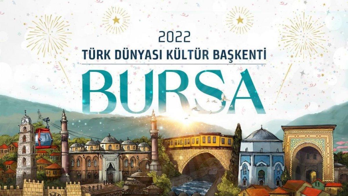 Türk Dünyası Kültür Başkenti unvanı Bursa ya verildi #5